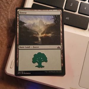 Other - Forest magic card